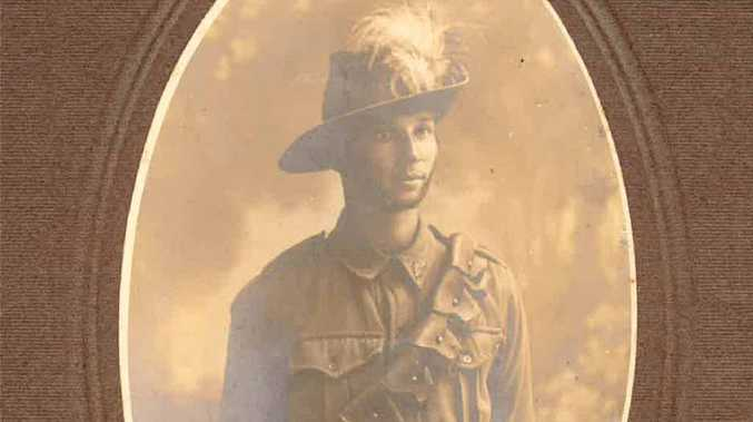 IN THE THICK OF IT: Private James Reardon spent four years and 11 days in the army during World War I.