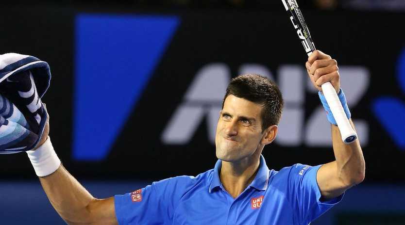 Novak Djokovic expects a hard game against Roger Federer.