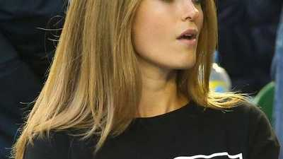 Murray's girlfriend Kim Sears wore this top to the Australian Open men's final in response to being caught swearing in his semi-final win over Tomas Berdych