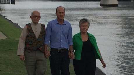 Peter Greste in Brisbane after being released from an Egyptian prison