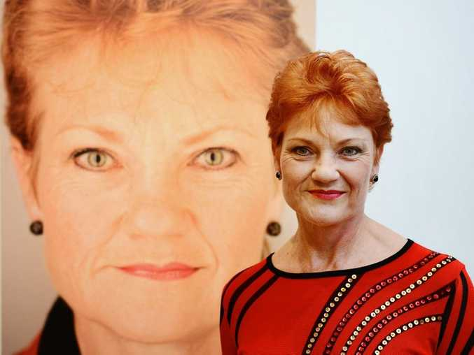 Pauline Hanson: Being courted by Coast politicians
