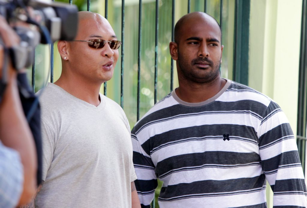 Australian death-row prisoners Andrew Chan and Myuran Sukumaran.