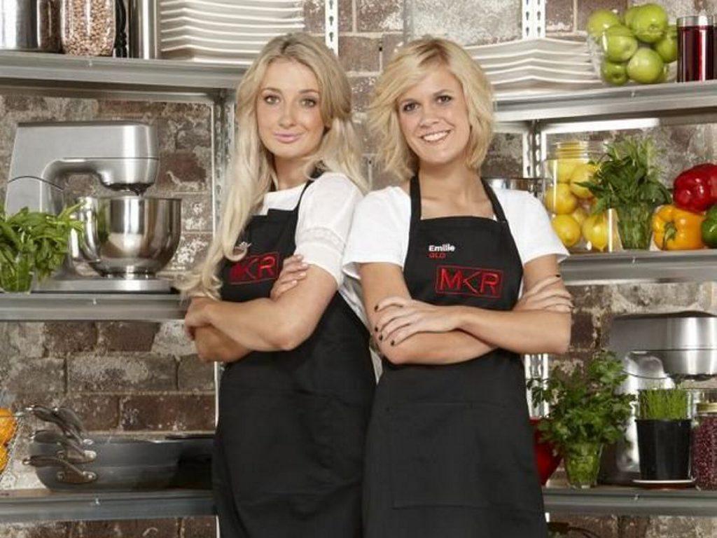 MKR contestants Emilie Biggar and Sheri Eddington