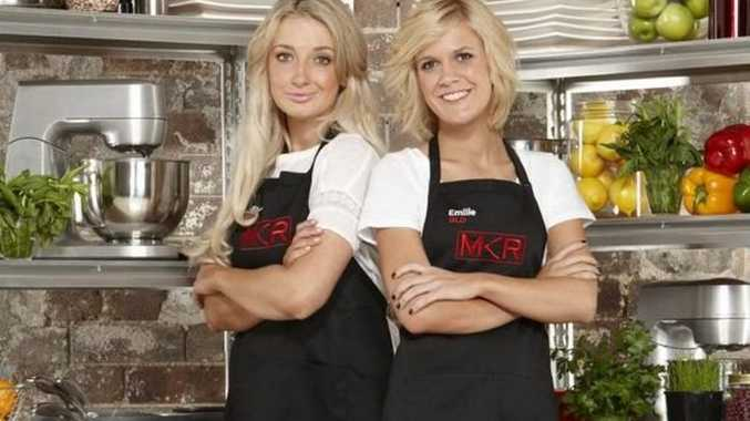 MKR contestants Emilie Biggar and Sheri Eddington