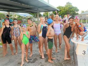 Youngsters make big splash at interclub meet