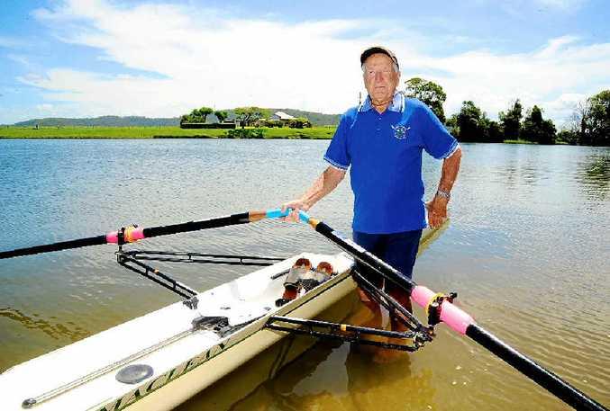 HUMBLE: Australian Masters Rowing champion from Maclean, Harold Kratz. PHOTO: DEBRAH NOVAK