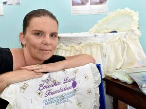 Brave mum raises funds for cuddle cot for stillborn babies