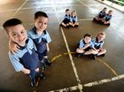 Seeing double: Four sets of twins in kindy class