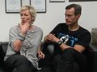 From the Heart: Amanda Keller and co-host Brendan 'Jonesy' Jones talk to journalists David Stuart and Chris Calcino