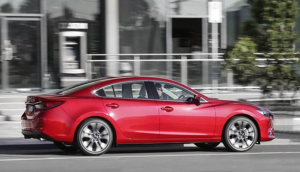The 2015 Mazda6.