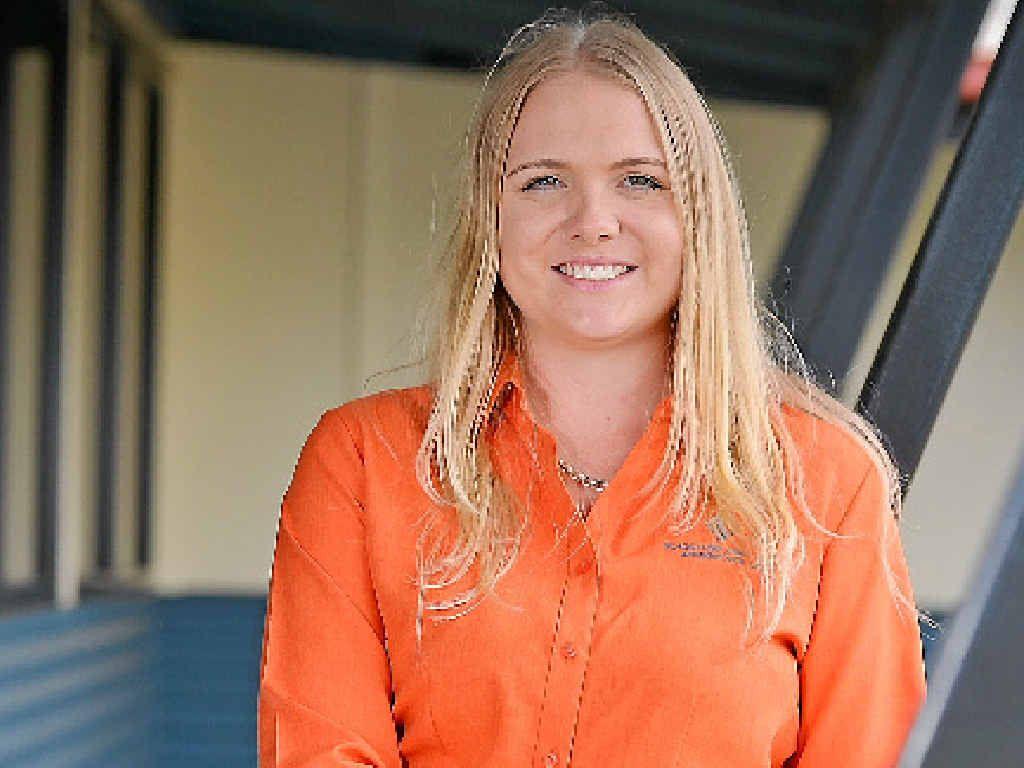LOVING REGION: Danielle Crisp has moved to Gladstone from Victoria.