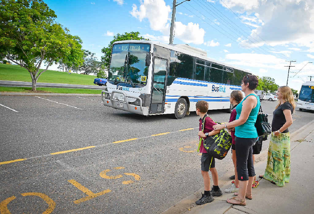 SAFETY CONCERN: Reports of overcrowded buses have many parents concerned about the safety of their children.