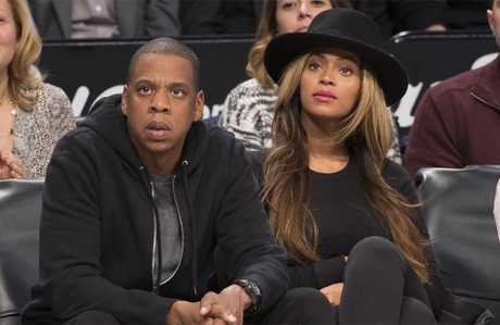 Jay-Z invited Amy to stay with him and Beyonce.