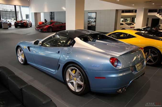 2011 Ferrari 599 Sa Aperta Found In Mclaren Beverley Hills