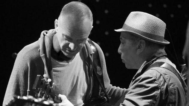 Sting with Paul Simon