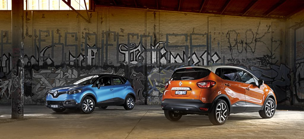 The Renault Captur is available in two trims.