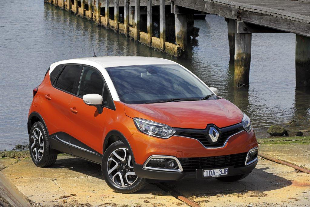 The Renault Captur Dynamique.