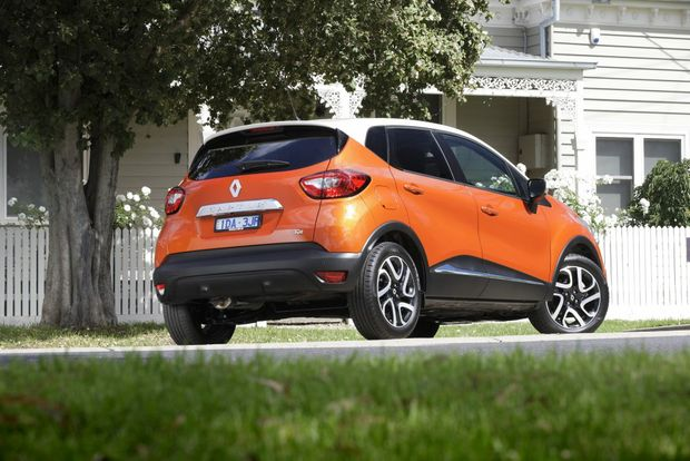 The Renault Captur Dynamique.
