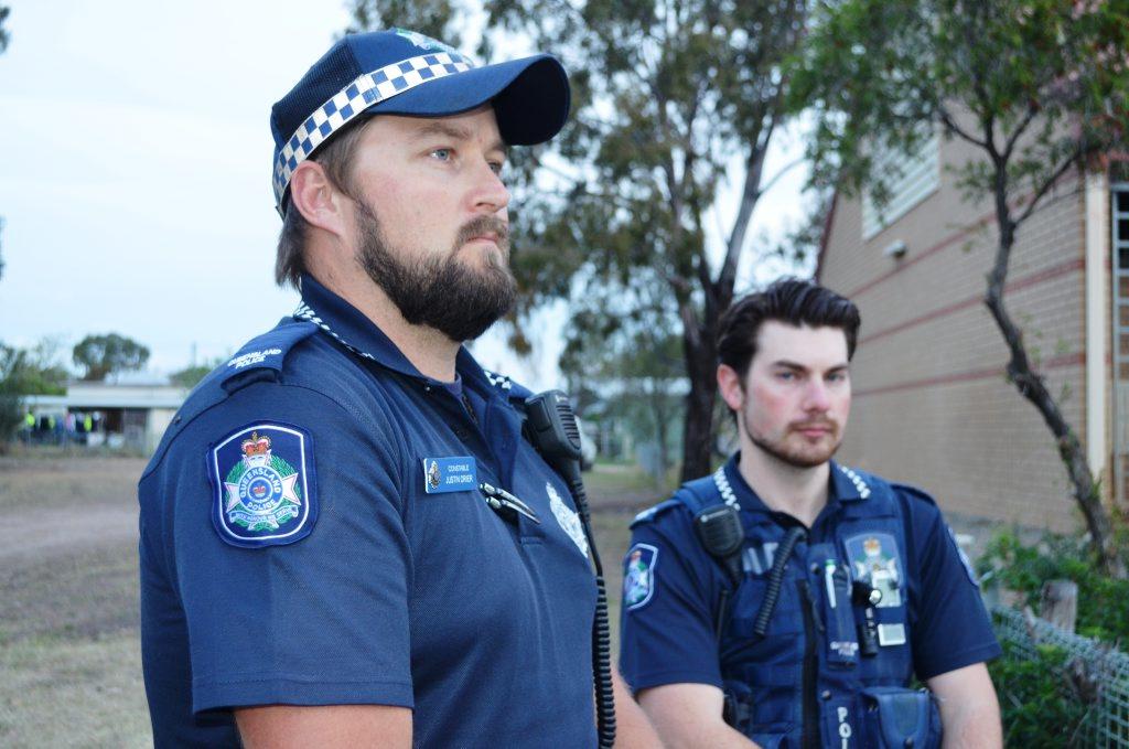 Constables Justin Drier and Simon Giuliano.