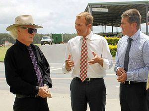Stokes spruiking funding for several projects