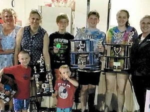 Riders and helpers rewarded at club night