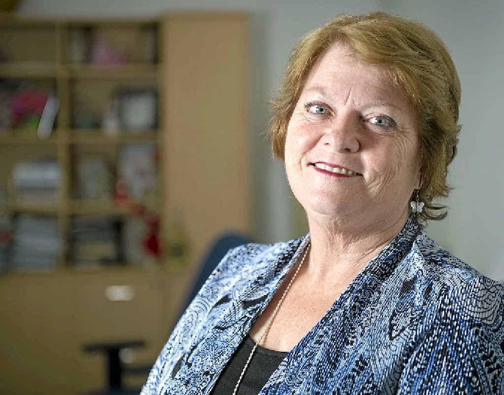 Retiring Gladstone MP Liz Cunningham.