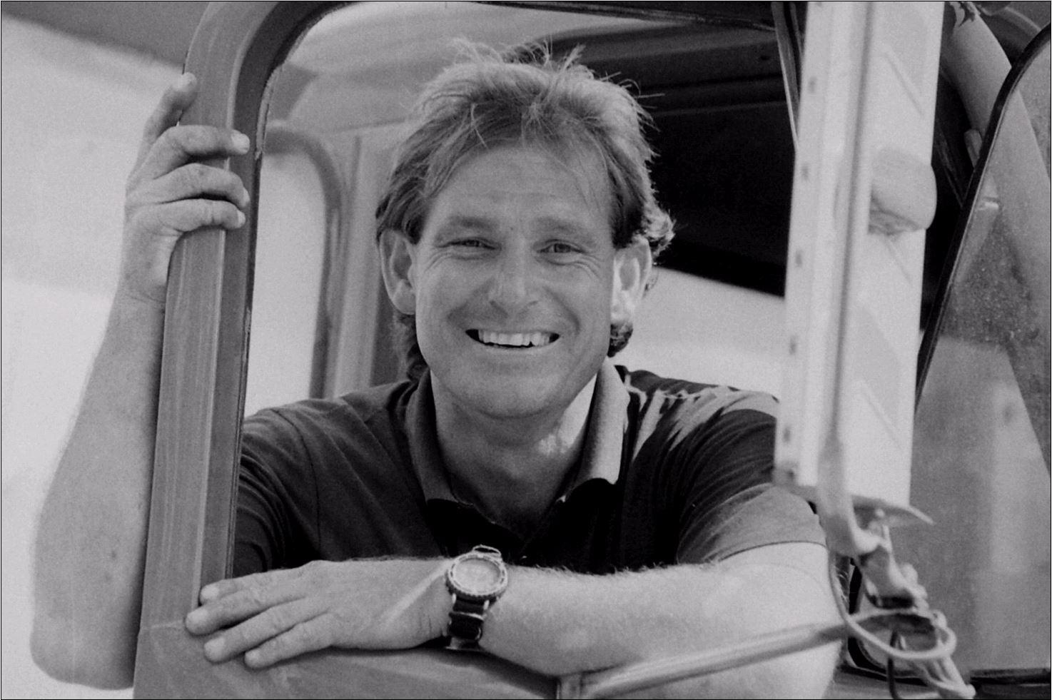 Former Lismore man Jeffery Brackenrig in a photo taken by Jacklyn Wagner in 1995.