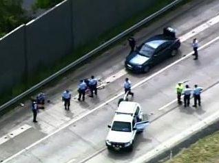 Footage of carjacking arrest