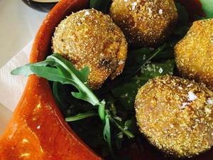 Rocksalt's Mushroom Arancini recipe