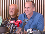 Freed Peter Greste gives his first press conference
