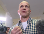 "Peter Greste: ""It feels absolutely awesome to be here"