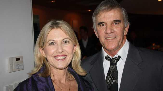 Glenn and Susan Brant at the Amber Werchon Property awards night at Fourth Floor, Mooloolaba Photo: Erle Levey / Sunshine Coast Daily