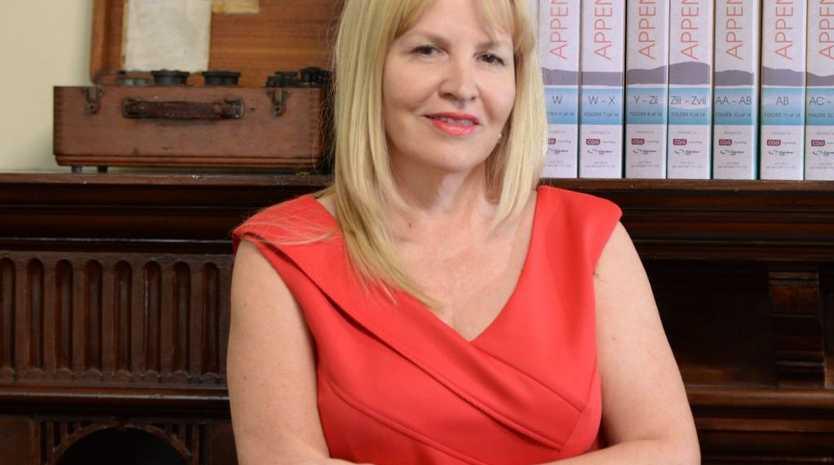 Patrice Brown at CQG Consulting. Photo Allan Reinikka / The Morning Bulletin
