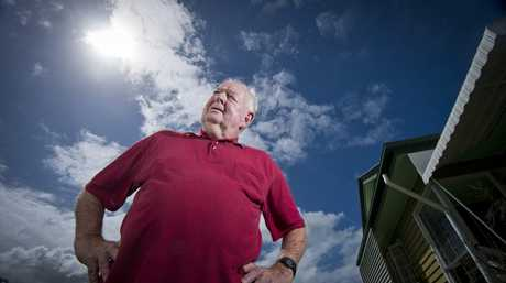 RAGING WINDS: The cyclone that hit Gladstone in 1949 was the worst in Brian Norris's lifetime so far, with winds so fierce he remembers his house shaking and windows smashing on Goondoon St.