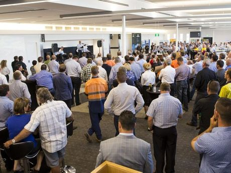 More than 300 local business and community leaders attended RangeLink's event.