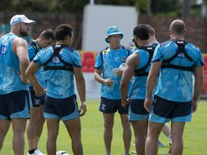 Titans training in Toowoomba
