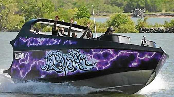 Jet Storm Mackay gives passengers a wild 30-minute experience on the Pioneer River.