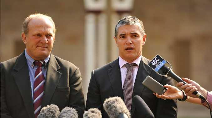 KAP: Katter's Australian Party's Rob Katter and Shane Knuth.