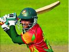 BANGERS SMASH: Shakib Al Hasan batting for Bangladesh.