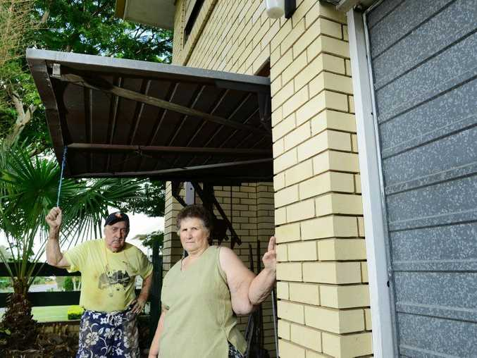 SHUT OUT: John and Val Vogel are warning residents about a shed company that disappeared with their deposit.
