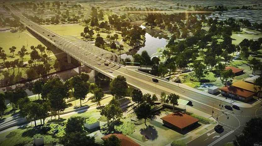 An artist's impression of the proposed Norman Street Bridge. Photo: Contributed