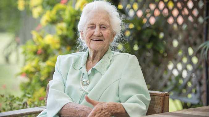 HAPPY BIRTHDAY: Gerda Reid will celebrate her 100th birthday at Caroona Yamba Hostel tomorrow. Photo: Adam Hourigan