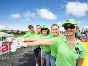C.ex community crew prepare to lend a hand at bcu Coffs Tri