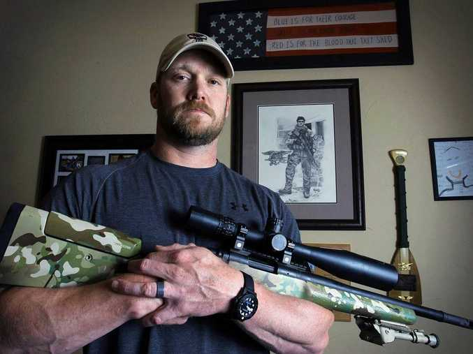 Chris Kyle's life has been celebrated in a controversial film nominated for seven Oscars. But now it is his death that has America transfixed.