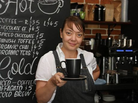 Celebrating the launch of their new brunch menu is Piccolo Papa's owner Ceyda Saggers.
