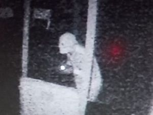 Do you know the identity of this mystery intruder?