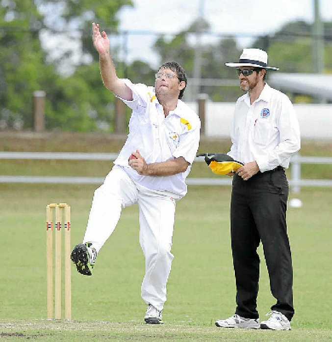 CRCA PLAYER OF THE WEEK: Westlawn Premier League bowler John Blanch took 6 for 97. PHOTO: DEBRAH NOVAK