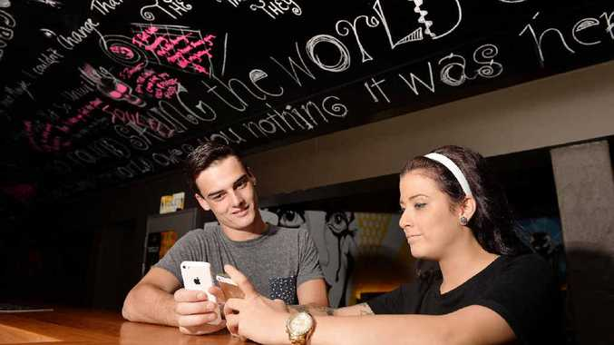 Mackay's Ben Matthews and Courtney Bryant are just two of the millions worldwide who use the popular dating app Tinder.