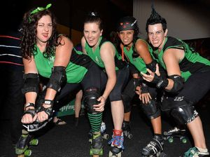 Our roller derby team stars at state titles