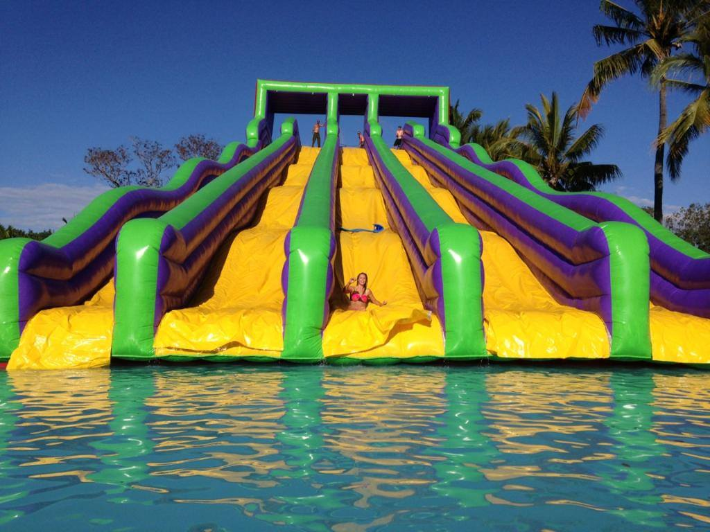 World's largest inflatable water park coming to town | Chronicle